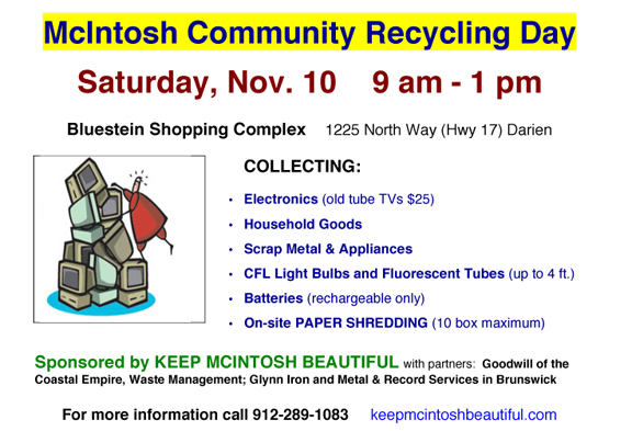 2018 McIntosh Community Recycling Day-Darientel