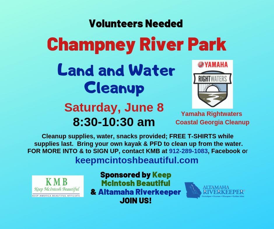 Champney Park Cleanup