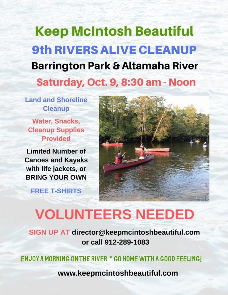 Barrington River Clean UP 10-9-21